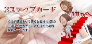 美容広告 エルデザイン 3stepcardのご案内