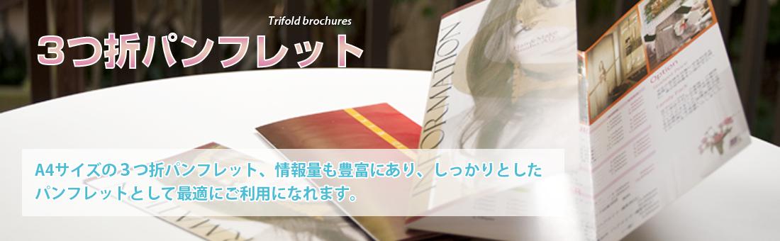 美容広告エルデザイン 3折パンフ